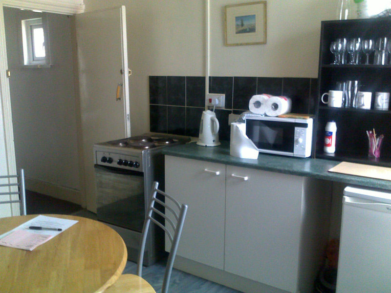 ... Kitchen In Flat ...